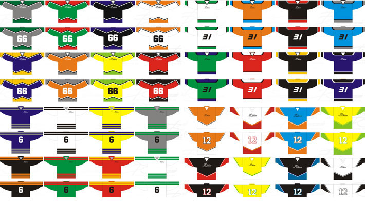 Vzory hokejových dresů - Boháček sport - výroba dresů f357497e57